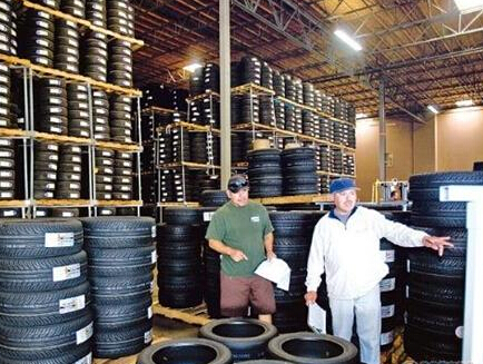 Tyre sales in the United States in 2014 to over 300 million, or 4.7%